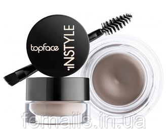 Гель для бровей Topface Instyle Eyebrow Gel, 001 Ash Brown