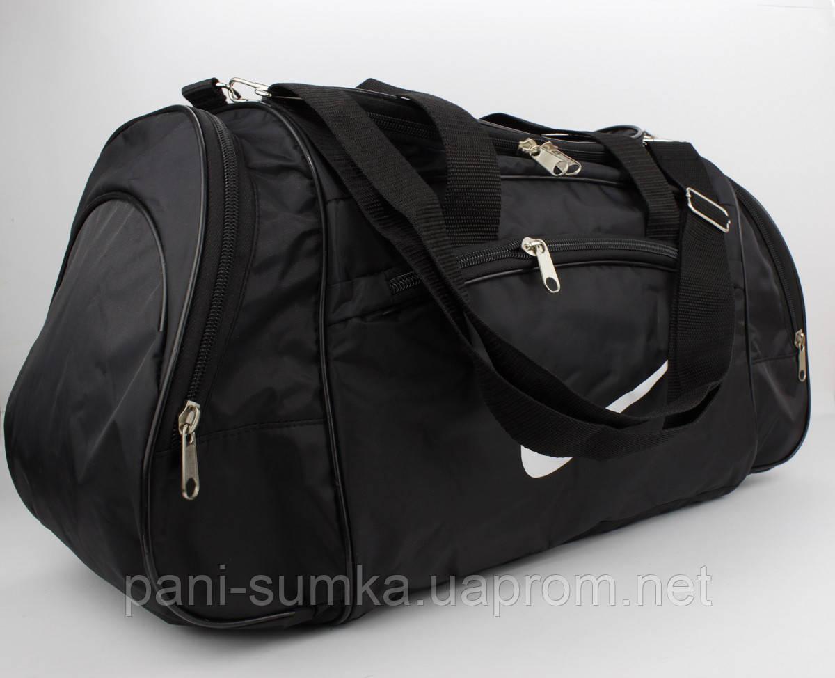 3b3e0ec3b3f8 Стильная спортивная, дорожная сумка Nike 1323 черная, цена 390 грн., купить  Белгород-Днестровский — Prom.ua (ID#747314550)