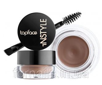 Гель для бровей Topface Instyle Eyebrow Gel, 002 Taupe