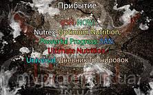 Поступление: BioTech, Cloma Pharma, Hydra Cup, MyProtein, Nutrend, Optimum Nutrition, OstroVit, Scitec Nutrition, Scivation, TOM peanut butter, Universal, BSN, NOW, Nutrex, Optimum Nutrition, Powerful Progress, SAN, Ultimate Nutrition, Universal, Дневник Тренировок Quest Nutrition.