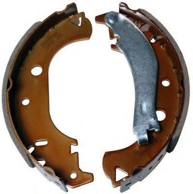 Колодки барабанні задні Fiat Doblo 11 / 00- / 229X42 /