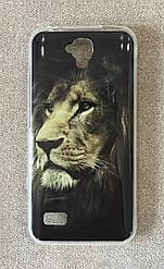 Силиконовый чехол для Huawei Y560 (Lion)