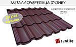 Металочерепиця Suntile Sydney 0,46 РЕМА Італія, фото 8