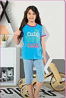 Пижама для девочек. 5- 10 лет
