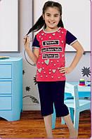 Пижама для девочек. 5- 12 лет