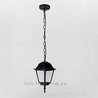 Садово-парковый  подвесной фонарь ( модель 67-V3300-S-PL BK   )