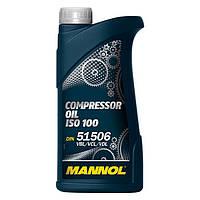 Компрессорное масло Mannol Compressor Oil ISO 100 VBL/ VCL/ VDL 1 л