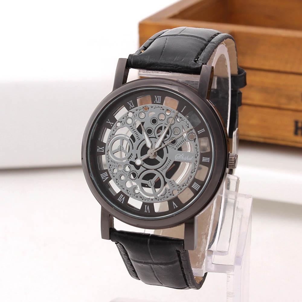 2d5e7285 Мужские наручные часы Кварцевые Часы Skeleton BLACK, цена 145 грн., купить в  Одессе — Prom.ua (ID#747325439)