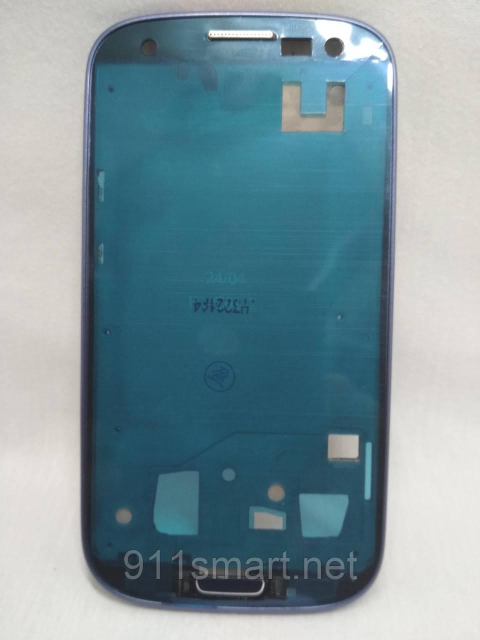 Средняя часть корпуса Samsung Galaxy S3 I9300 синий