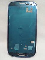 Средняя часть корпуса Samsung Galaxy S3 I9300 синий, фото 1