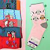 Махровые детские носки на девочку и мальчика с рисунком  р.20,21