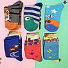 Махровые детские носки на девочку и мальчика с рисунком  р.16