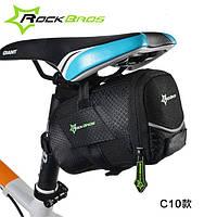 Велосипедна сумка під сідло чорна ROCKBROS, фото 1
