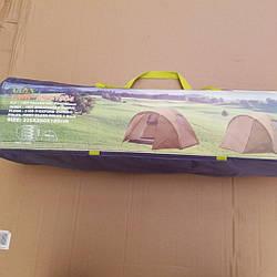 Палатка 1004туристическая четырехместная Green Camp