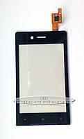 Сенсорный экран Sony ST23i Xperia Miro, черный