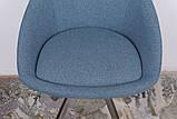 Стул поворотный Toledo синий текстиль Nicolas (бесплатная доставка), фото 4