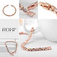 Изящный женский браслет с кристаллами Roxi