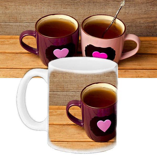Кружка с принтом Чай для влюбленных (33127)