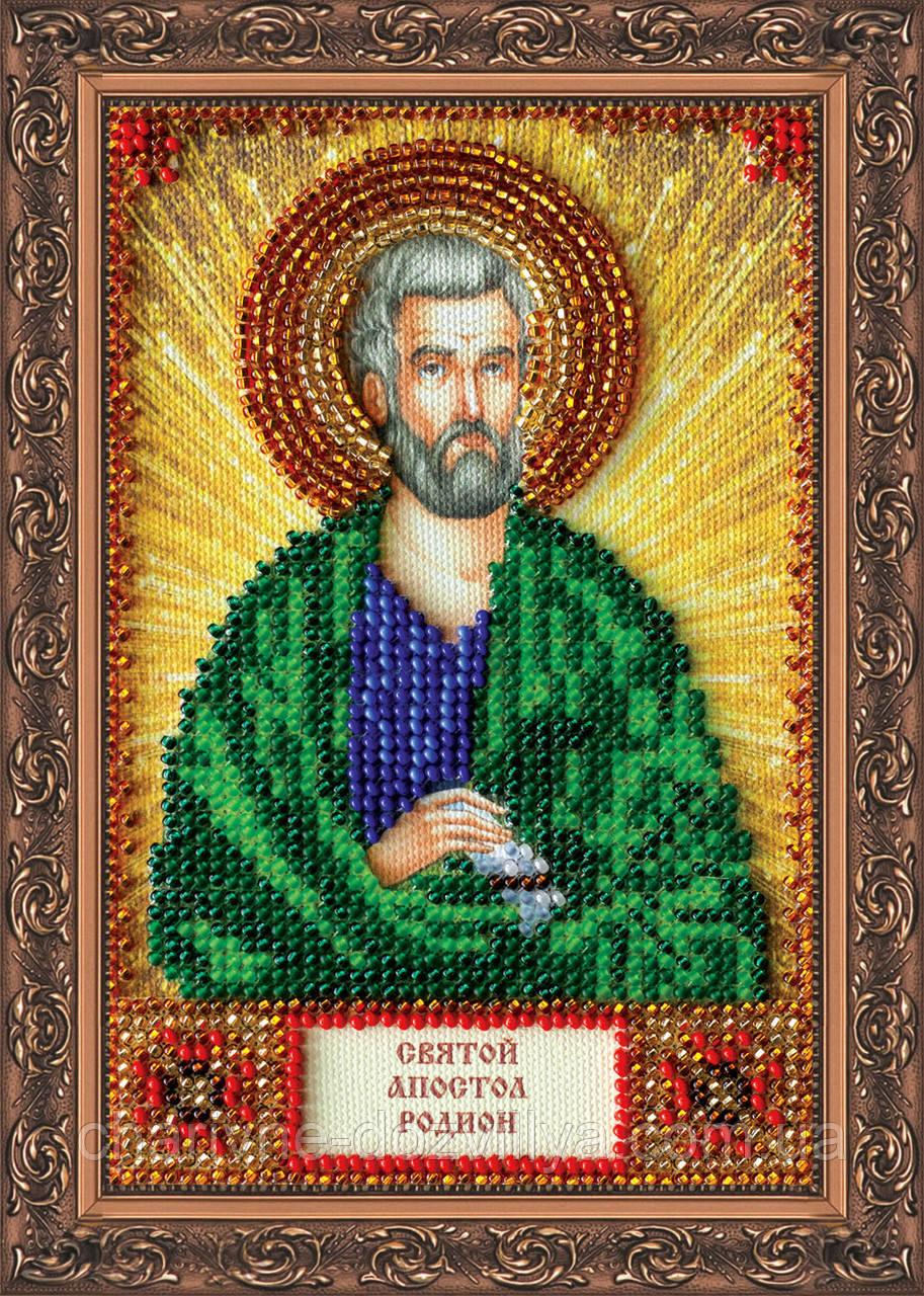 Набор для вышивки бисером икона Святой Родион