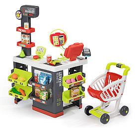 Інтерактивний Супермаркет з візком Smoby 350213