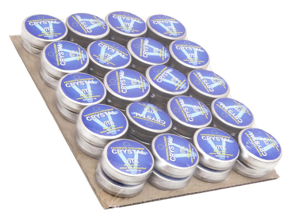 Канифоль сосновая Crystal Vita вес 10 гр нетто