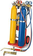 Универсальный набор 'тройной газ'  RE17 AMS 5/5 передвижной, без ацетилена и кислорода. Rothenberger