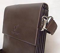 Мужская сумка Bradford 886-3 коричневая искусственная кожа, фото 1
