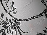 Рулонные шторы Романтик черный, фото 3