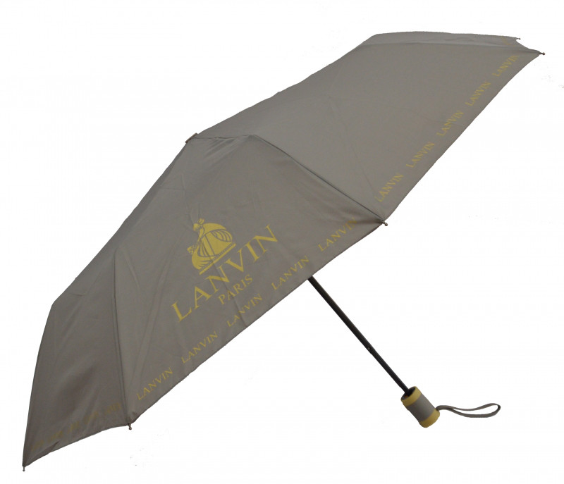 Зонт складной Calm Rain полуавтомат Серый (MR-515-6)