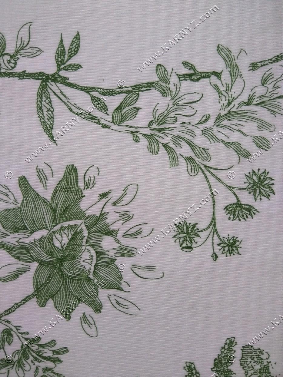 Рулонные шторы Романтик зеленый