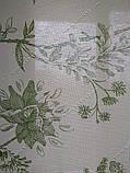 Рулонные шторы Романтик зеленый, фото 2
