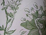 Рулонные шторы Романтик зеленый, фото 3