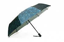 Зонт складной PoPular автомат Сине-зеленый (MR-948-3)