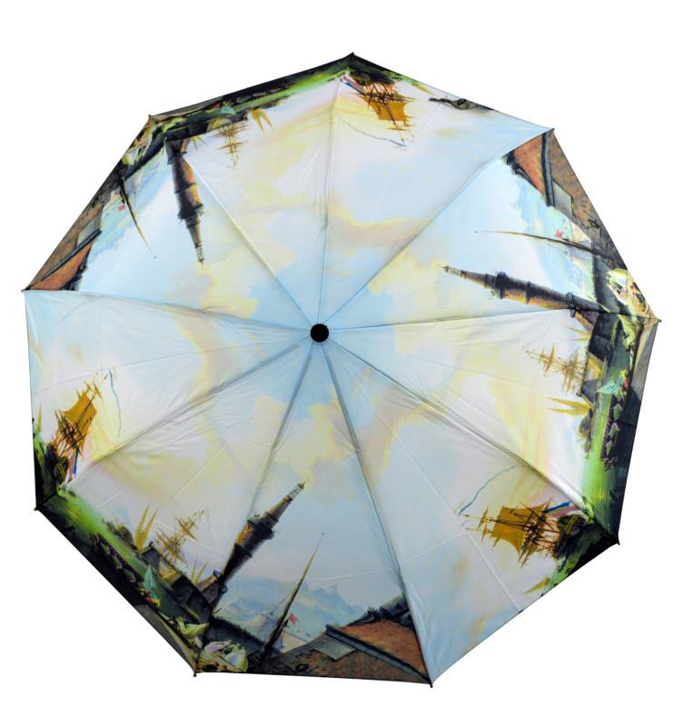 Зонт складной Susino полуавтомат Разноцветный (MR-3377-4)