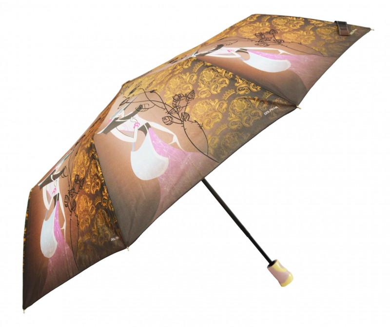 Зонт складной Sunn Rain полуавтомат Разноцветный (MR-1706-2)