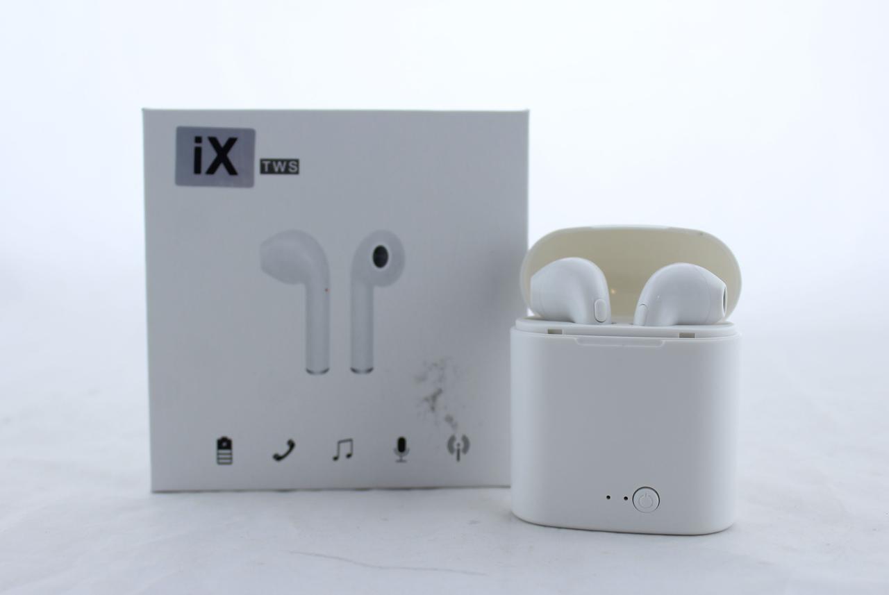 Беспроводные наушники MDR Double i7s Bluetooth гарнитура(БЕЗ замены брака)