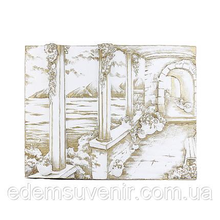 Панно Итальянский дворик золото малое, фото 2