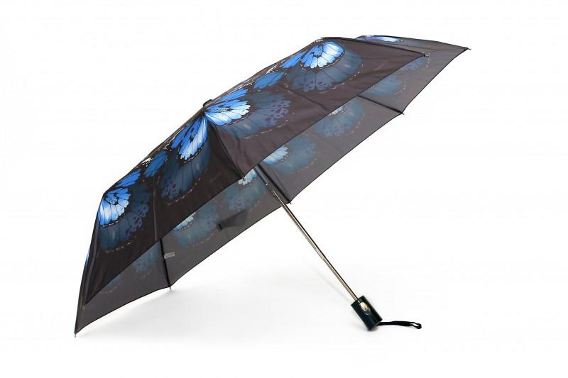 Зонт складной S/L полуавтомат Темно-синий (MR-35006-4)