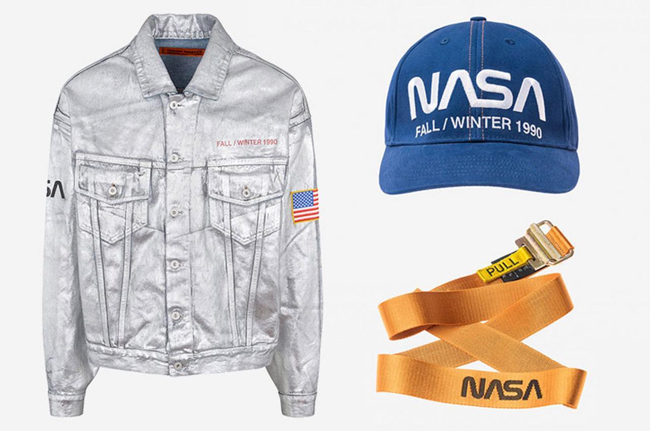 Фото 2_серебряная джинсовая куртка NASA
