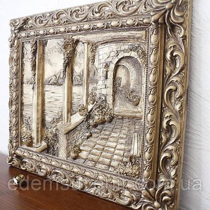 Панно Итальянский дворик бронза, фото 2