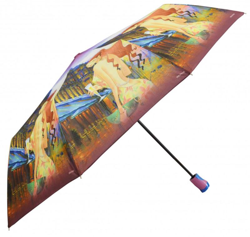 Зонт складной Sunn Rain полуавтомат Разноцветный (MR-1706-6)