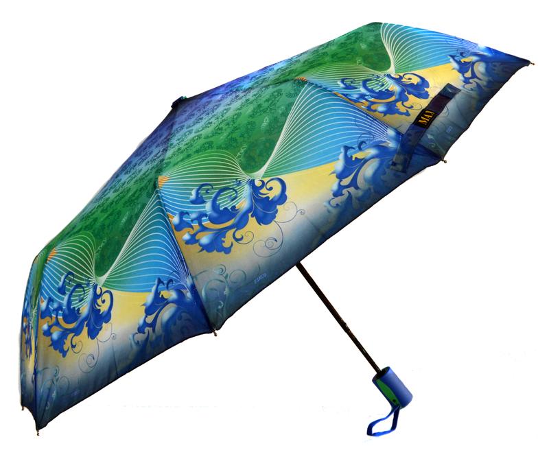 Зонт складной Max Comfort полуавтомат Разноцветный (MR-436-4)