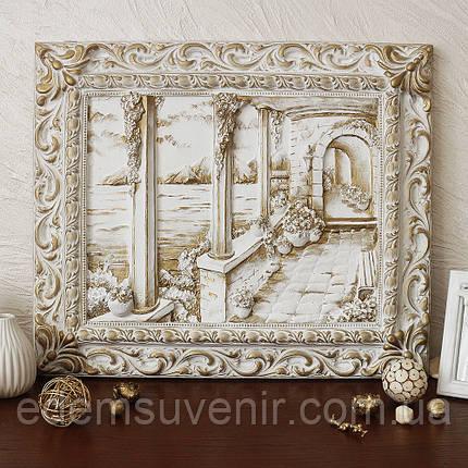 Панно Итальянский дворик золото, фото 2
