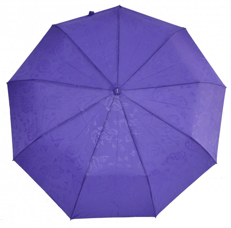 Зонт складной Max Comfort полуавтомат Фиолетовый (MR-427-2)