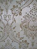 Рулонные шторы Барокко белый, фото 2