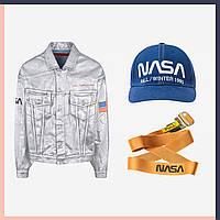Космическая джинсовая куртка от NASA