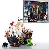 Пиратский корабль с пиратами игровой набор
