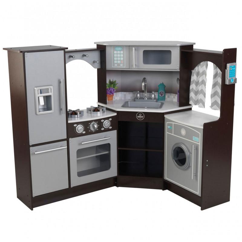 Кухня деревянная Ultimate Espresso KidKraft 53365