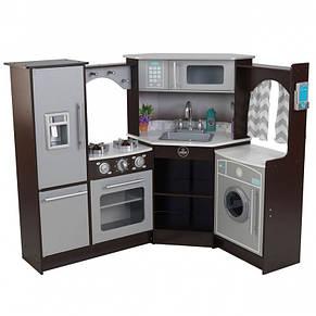 Кухня деревянная Ultimate Espresso KidKraft 53365, фото 2
