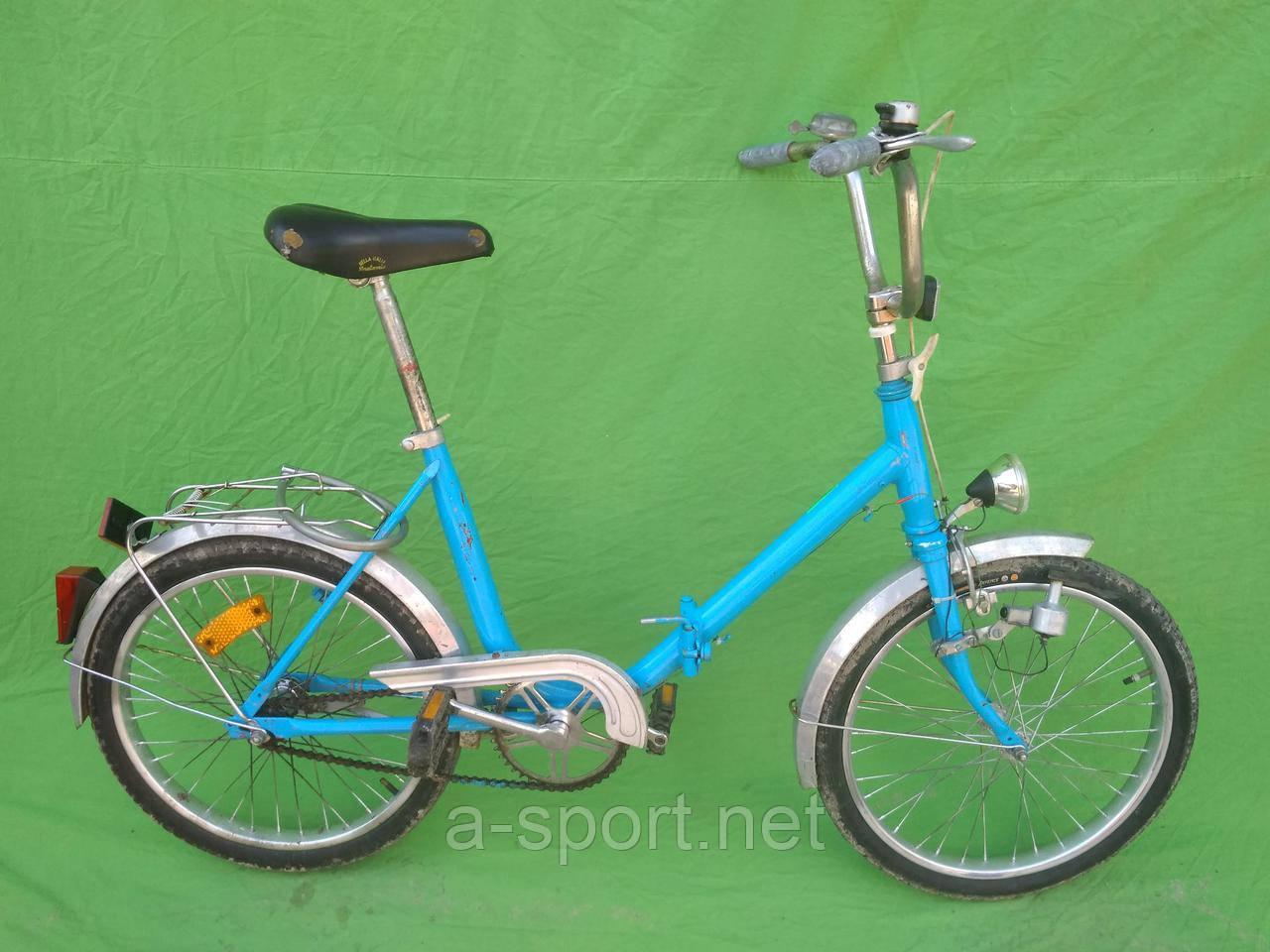 Складний велосипед, колеса 20